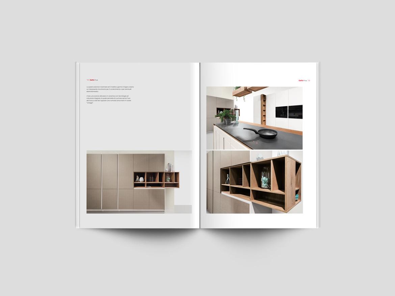Comunicazione e Cataloghi Gatto Cucine - PluraleCom Web e Grafica