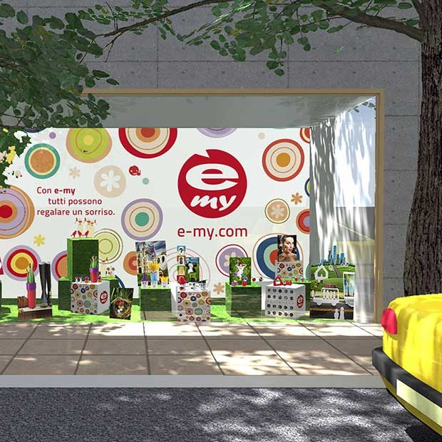 E-my Guzzini Packaging